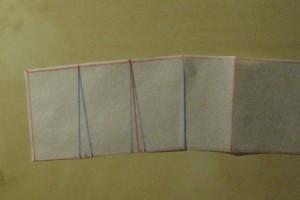 fold back