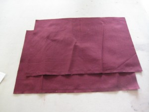 cut panes for skirt
