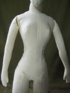 old cloth doll body