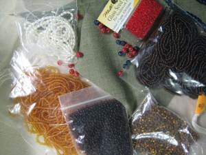 selection of beads