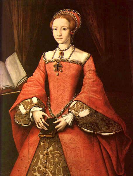 Young Queen Elizabeth 1 Dress Elizabethan Fashion | ...