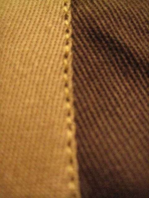stitches at edge of bias