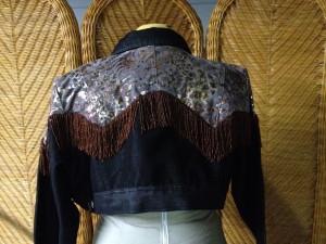 back of shoulder area