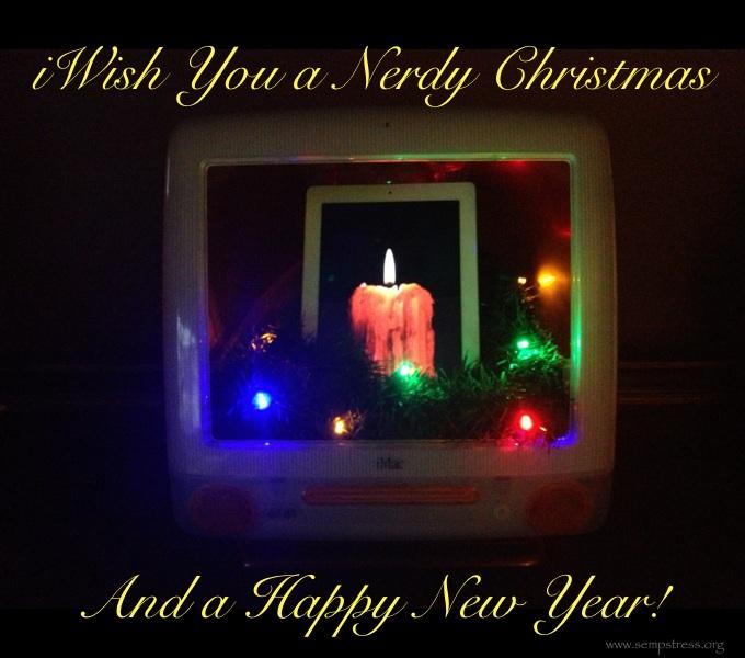 Christmas iMac