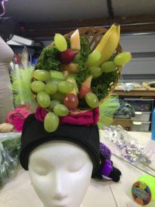 Hat of fruit