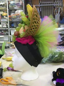 Side of fruit hat