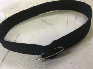 A loop of elastic