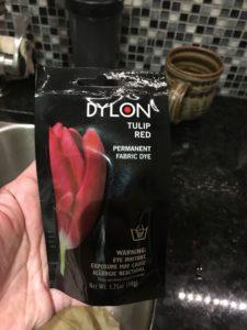 Dylon packet